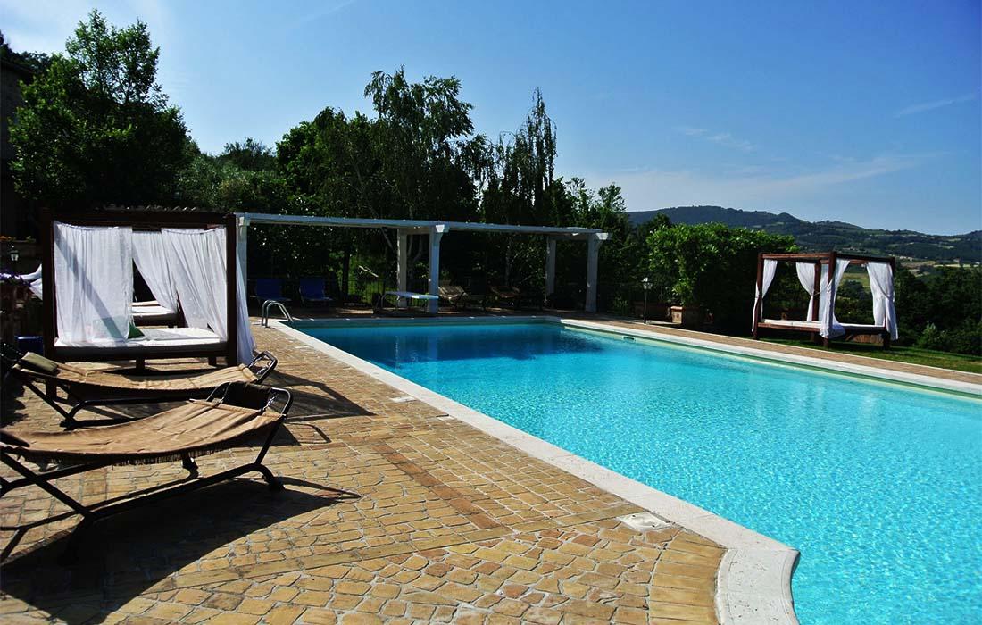 Residenza Collefiorito - Camere e appartamenti vacanze Todi, Umbria